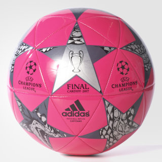 Balón Finale Cardiff Capitano SHOCK PINK /BLACK/NIGHT MET. AZ9606