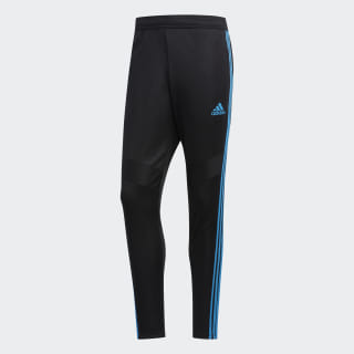 Tiro 19 Training Pants Black / Shock Cyan DZ6167
