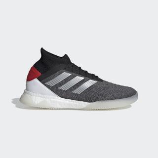 Predator 19.1 Shoes Dark Grey Heather / Matte Silver / Active Red D98058