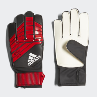 Predator Junior Gloves Black / Red / White CW5606