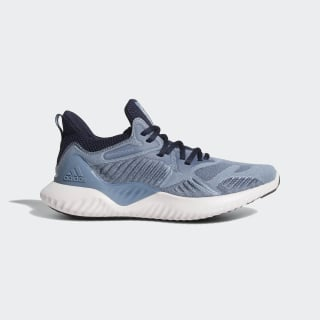 Zapatillas Alphabounce Beyond Raw Grey / Orchid Tint / Legend Ink CG5580