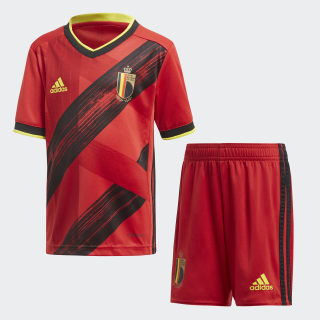 Belgium Home Mini Kit Collegiate Red / Black / Bright Yellow FS3820