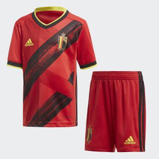 Belgium Home Mini Kit Collegiate Red / Black / Bright Yellow FS3820