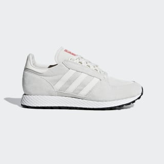 Zapatillas FOREST GROVE W Cloud White / Cloud White / Shock Red CM8418