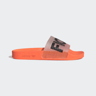 Fiorucci Adilette Slides Solar Orange / Solar Gold / Black/Red G28915