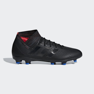 Nemeziz 18.3 FG Fußballschuh Core Black / Core Black / Football Blue D97981