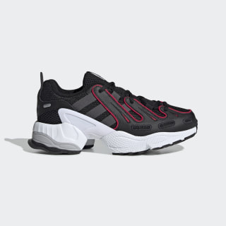 EQT Gazelle Shoes Core Black / Grey Six / Energy Pink EE7532