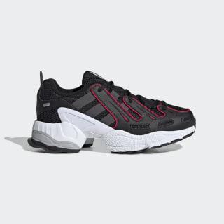 EQT Gazelle Shoes Core Black / Grey Six / Energy Pink EE7532