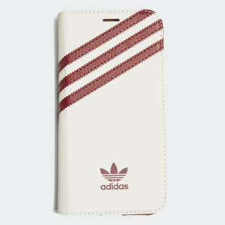 Flip Case iPhone XS White / Collegiate Burgundy CL9691