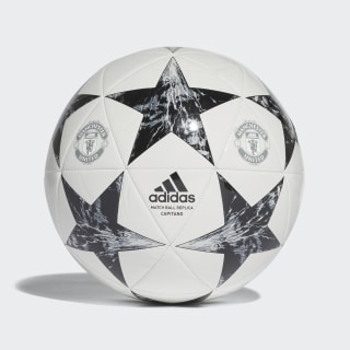 Balón Finale 17 Manchester United Capitano WHITE/BLACK/LGH SOLID GREY/ONIX GREY BS3475
