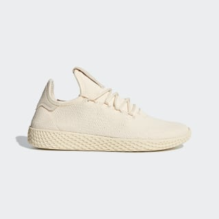Tênis Pharrell Williams Tennis Hu Beige / Cloud White / Core Black D96552