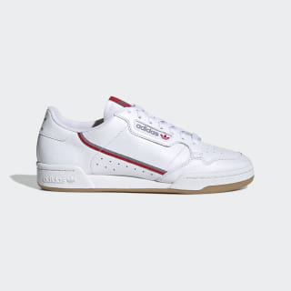 Scarpe Continental 80 Cloud White / Grey Three / Scarlet FV0356
