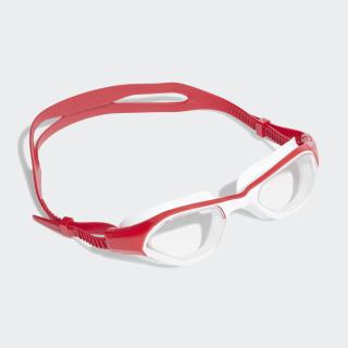 Persistar 180 Unmirrored Yüzücü Gözlüğü Clear / Collegiate Red / White FJ4791