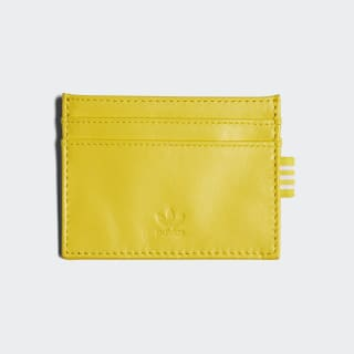 Leather Cardholder Yellow CD7991