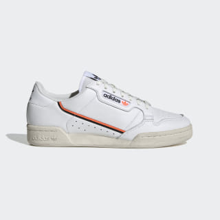 Continental 80 Shoes Cloud White / Core Black / Solar Orange EF5991