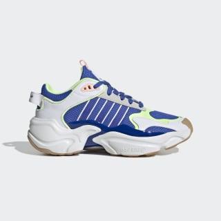 Magmur Runner Shoes Cloud White / Hi-Res Blue / Hi-Res Yellow EF0760