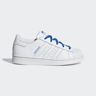 Superstar Shoes Cloud White / Cloud White / Blue CG6625
