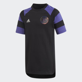 Paul Pogba T-shirt Black / Purple ED5730