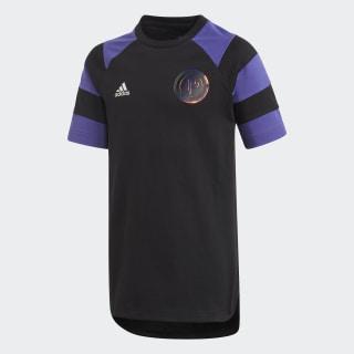 YB PP T-SHIRT Black / Purple ED5730