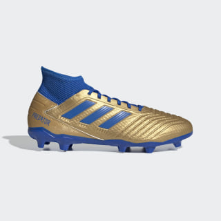 Predator 19.3 Firm Ground Boots Gold Metallic / Football Blue / Cloud White F35596