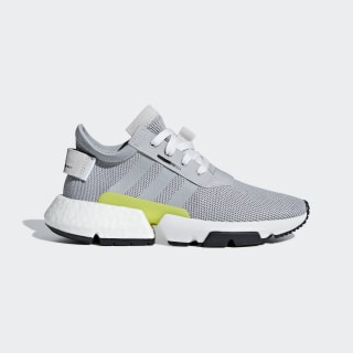 POD-S3.1 Shoes Grey Two / Grey Two / Shock Yellow B42056