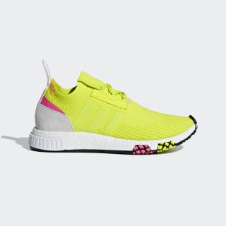 Chaussure NMD_Racer Primeknit Semi Solar Yellow / Semi Solar Yellow / Ftwr White AQ1137