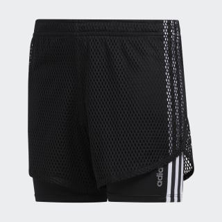 Open Mesh Shorts Black EV6617