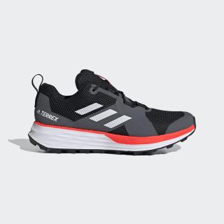 Sapatos de Trail Running Two TERREX Core Black / Cloud White / Solar Red EH1836