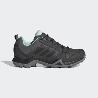 Terrex AX3 GTX Shoes Grey / Core Black / Clear Mint BC0573