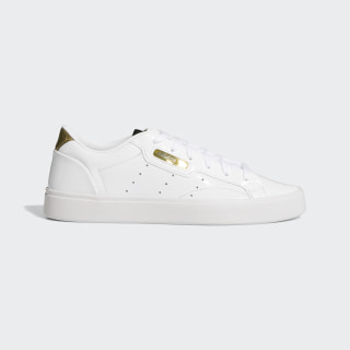Zapatilla adidas Sleek Cloud White / Crystal White / Gold Metallic FV3395