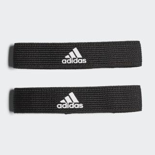 Fijaciones para medias de fútbol Black / White 620656