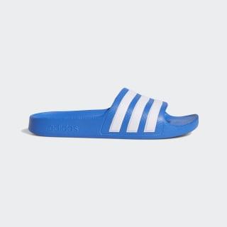 Pantofle Adilette Aqua True Blue / Cloud White / True Blue EF1752