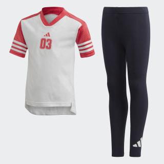 Conjunto camiseta y mallas White / Black FT8736