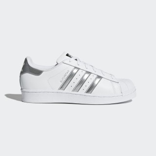 Chaussure Superstar Footwear White / Silver Metallic / Core Black AQ3091
