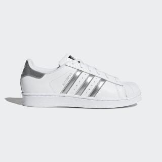 Superstar Shoes Footwear White / Silver Metallic / Core Black AQ3091