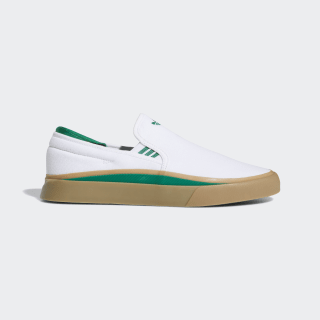 Sabalo Slip-On Shoes Cloud White / Bold Green / Gum EE6132