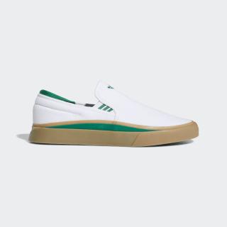 Tênis Sabalo Slip-On Cloud White / Bold Green / Gum EE6132