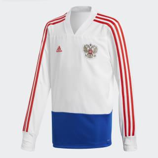 Тренировочный джемпер сборной России white / power blue / red CE8767