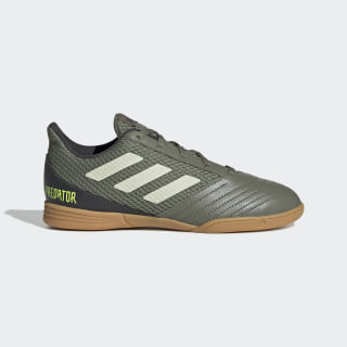 Chuteira Predator 19.4 Futsal Legacy Green / Sand / Solar Yellow EF8224