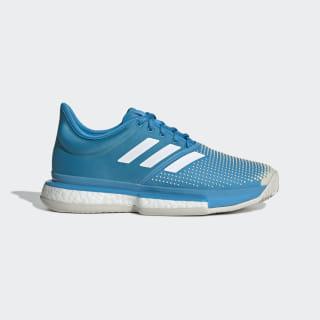 SoleCourt Boost Clay Shoes Shock Cyan / Cloud White / Raw White G26302