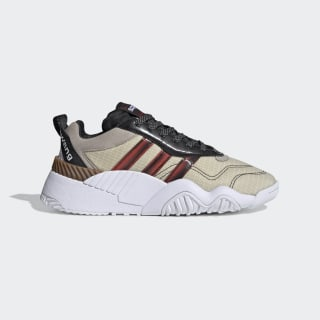 adidas Originals by AW Turnout Trainer Shoes Core Black / Light Brown / Bright Red FV2914