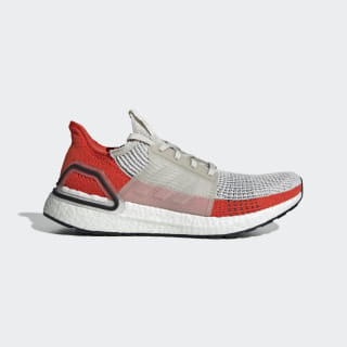 Tenis Ultraboost 19 Raw White / Cloud White / Active Orange F35245