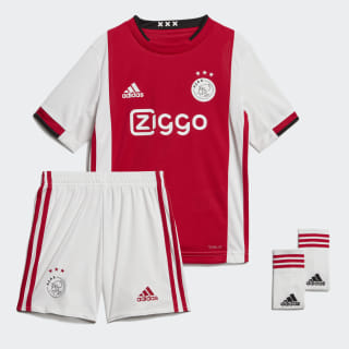 Mini kit Ajax Amsterdam Domicile Bold Red / White / Black EI7381