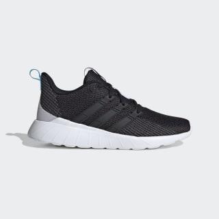 Questar Flow Shoes Core Black / Core Black / Bright Cyan EG3640