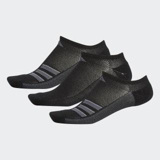 e8e5bc17b0fa adidas Climacool Superlite 3-Stripes No-Show Socks - Black