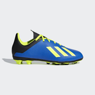 Calzado de Fútbol X 18.4 Múltiples Terrenos Niño FOOTBALL BLUE/SOLAR YELLOW/CORE BLACK DB2419