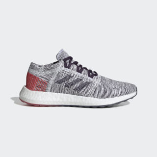 Pureboost Go Shoes Cloud White / Legend Purple / Shock Red B75826