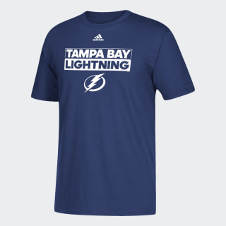 Lightning Box Logo Tee Nhl-Tbl-516 / Blue DA6951