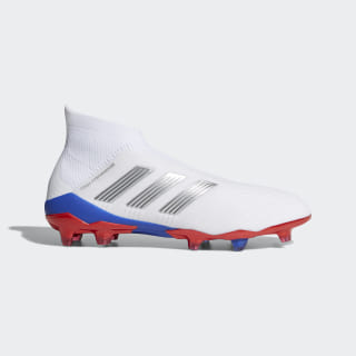 Gosha Rubchinskiy Predator 18+ Firm Ground Boots Ftwr White / Silver Met. / Bold Red CG7063
