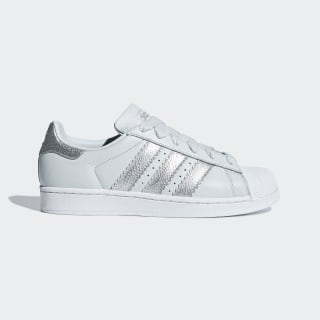 Superstar Shoes Blue Tint / Silver Metallic / Cloud White CG6452
